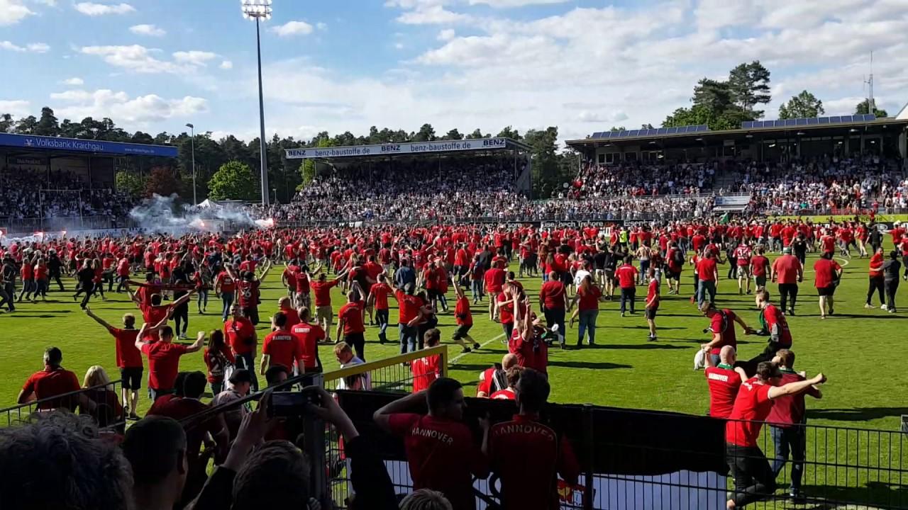 Hannover 96 Aufstieg