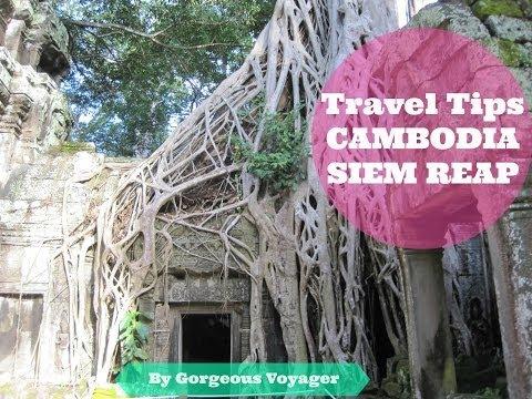 VLOG 4 | Travel Tips to Visit Siem Reap - Angkor Wat (Cambodia)|  HD 2014