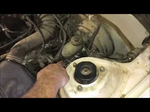 1996 Toyota Camry Brake Master Cylinder Replacement Youtube