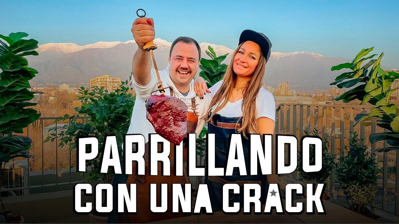 """Parrillando con Francini Amaral """"Parrillando con UNA Crack"""""""