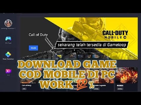 Tutorial Download Game Call Of Duty Mobile Di PC Work 100% 2019 thumbnail