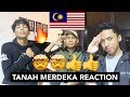 AzamRhadio X Emmjay X YAPH X Kmy Kmo - Tanah Merdeka Lyric - MALAYSIAN REACTION