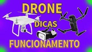 DRONE dicas de FUNCIONAMENTO, como funciona um DRONE wanzam fpv