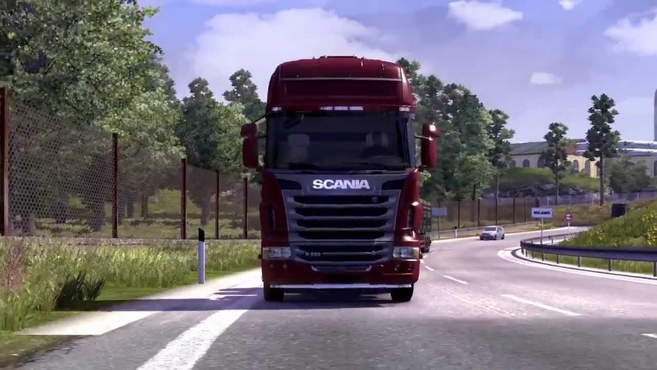 Gioco di camion euro truck simulator 2 youtube - Foto di grandi camion ...
