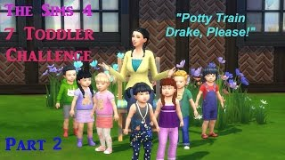 The Sims 4:  7 Toddler Challenge Part 2 -