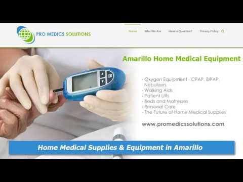 Amarillo Home Medical Supplies and Equipment :: Pro Medics Solutions