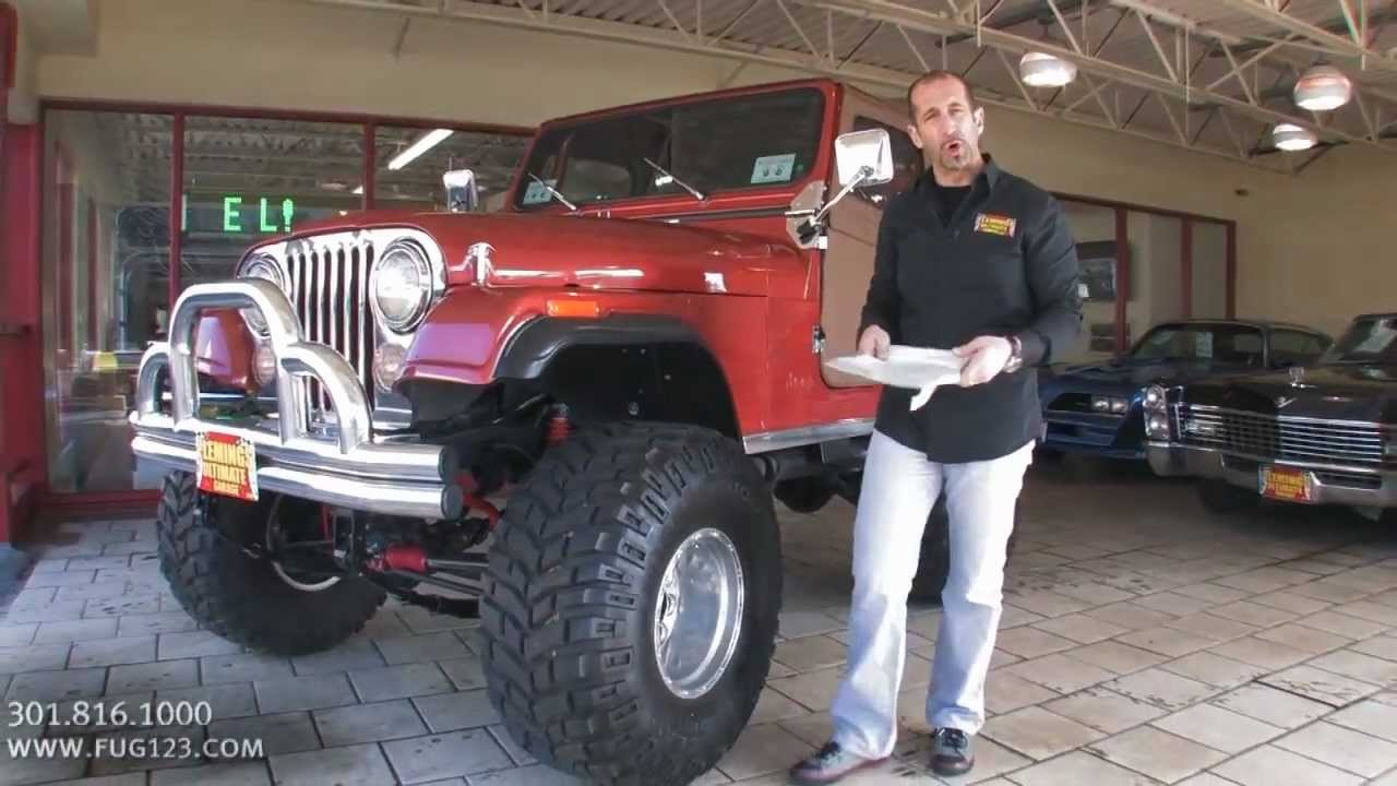 1979 Jeep CJ5 for sale with test drive, driving sounds ...