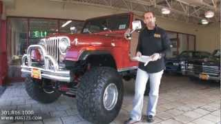 1979 Jeep CJ5 FOR SALE Tony Flemings Ultimate Garage reviews horsepower ripoff complaints video