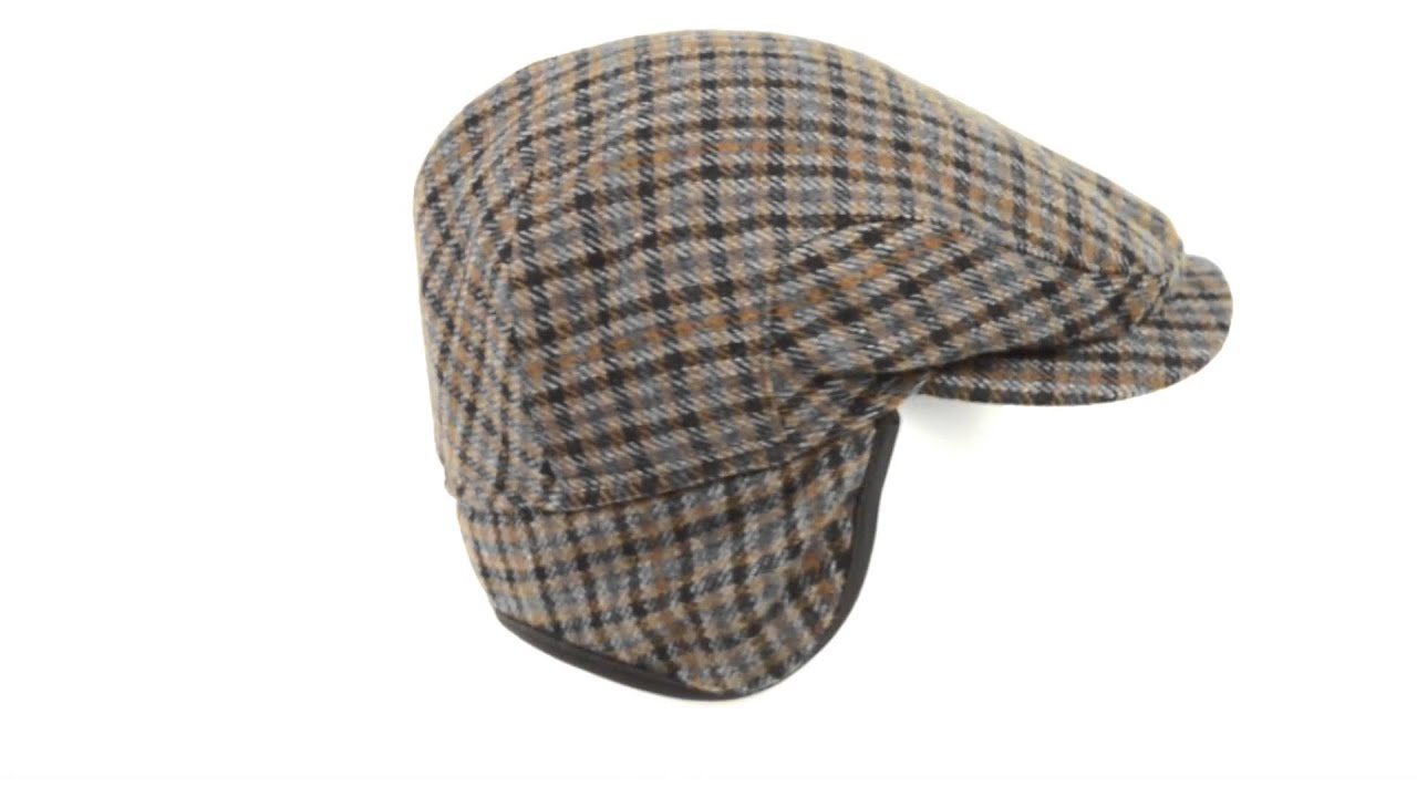 7d977207f73 Wigens District Check Ivy Cap - Wool