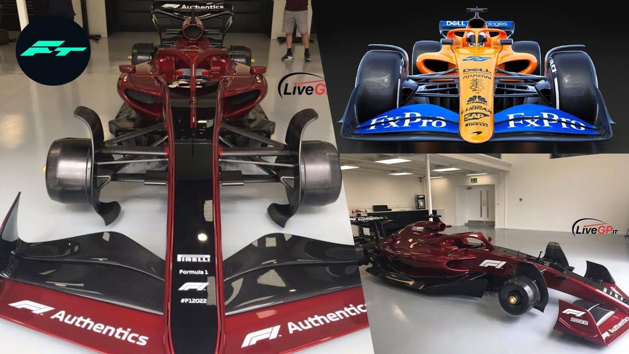 ¡¡FILTRADO!! ASI SE VE el PRIMER COCHE de la F1 2022 REAL