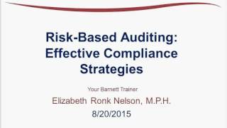 Risk-Based Auditing: Effective Compliance Strategies Trailer