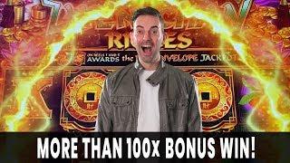 💵 130X BONUS WIN! 🤑 INCREDIBLE HIT on Zhen Chan RICHES 🏮 Agua Caliente Palm Springs #ad