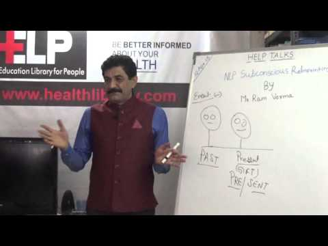 NLP Subconscious Re Imprinting by Mr. Ram Verma HELP Talk Video