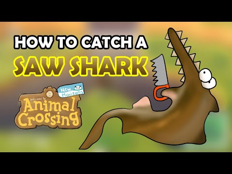 How To Catch A SAW SHARK In Animal Crossing New Horizons [12,000 Bells - Detailed Fish Guide]
