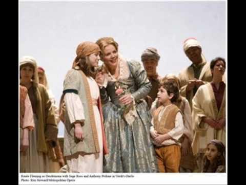 Nelly Miricioiu and Reneé Fleming sing Donizetti's Rosmonda d'Inghilterra confrontation scene