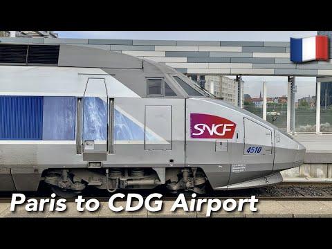 TRIP REPORT   TGV Inoui ( 2ND CLASS)   TGV Réseau   Lille Europe🇫🇷 - Aéroport CDG T1🇫🇷  
