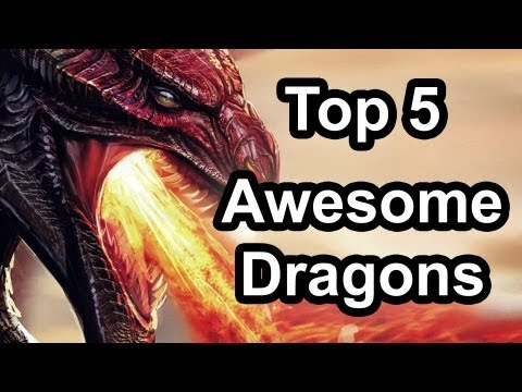 Top 5 - Awesome dragons in gaming