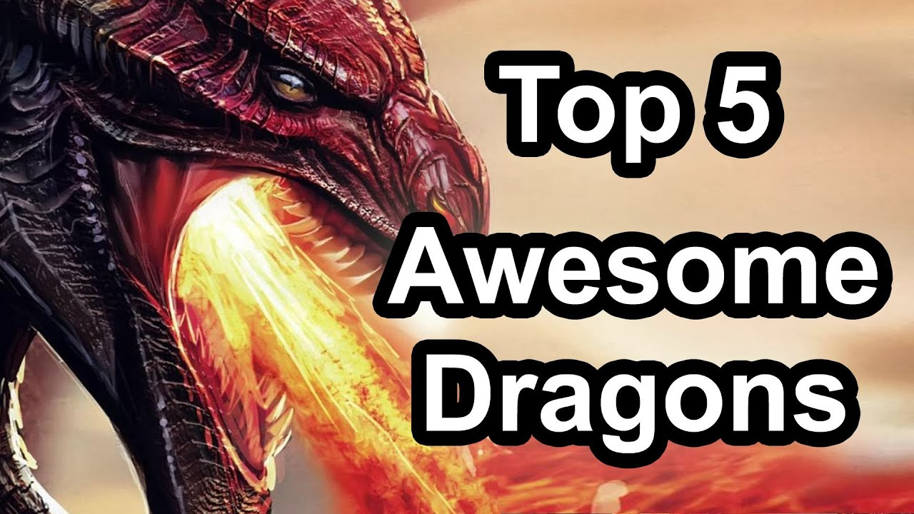 top 5 awesome dragons in gaming youtube