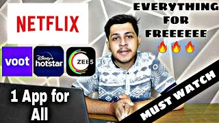 NETFLIX, ZEE5 EVERYTHING FOR FREE | HOW TO WATCH NETFLIX FOR FREE ?