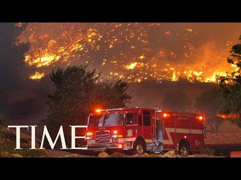 Woolsey Fire: Authorities Hold New Conference On The California Forest Fire | TIME
