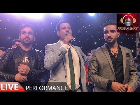 Ahmad Shah Mostamandi, Farid Chakawak & Mehdi Farukh  Qarsak Mix LIVE VIDEO