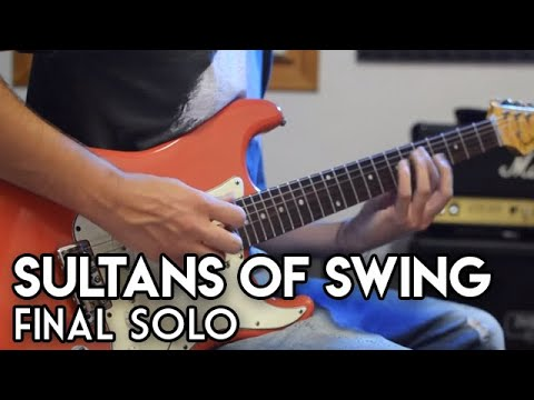 Sultans of swing FINAL SOLO - Dire Straits  cover by Elia Garutti