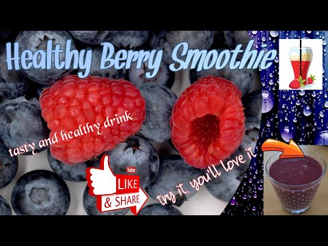 BERRY SMOOTHIE MAKING