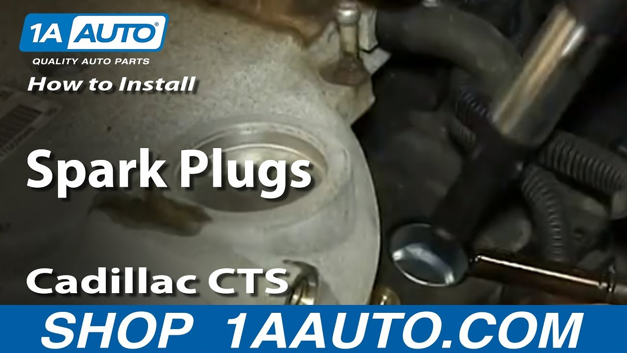 maxresdefault how to install replace spark plugs 2 8l v6 cadillac cts youtube 2004 cadillac cts coil pack wiring diagram at gsmx.co