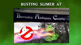 White Rose Ghostbusters - Catching Slimer at the Barnsley Antique Centre