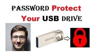 كيفية إنشاء كلمة مرور محرك فلاش USB مع BitLocker (USB حملة القلم قفل)