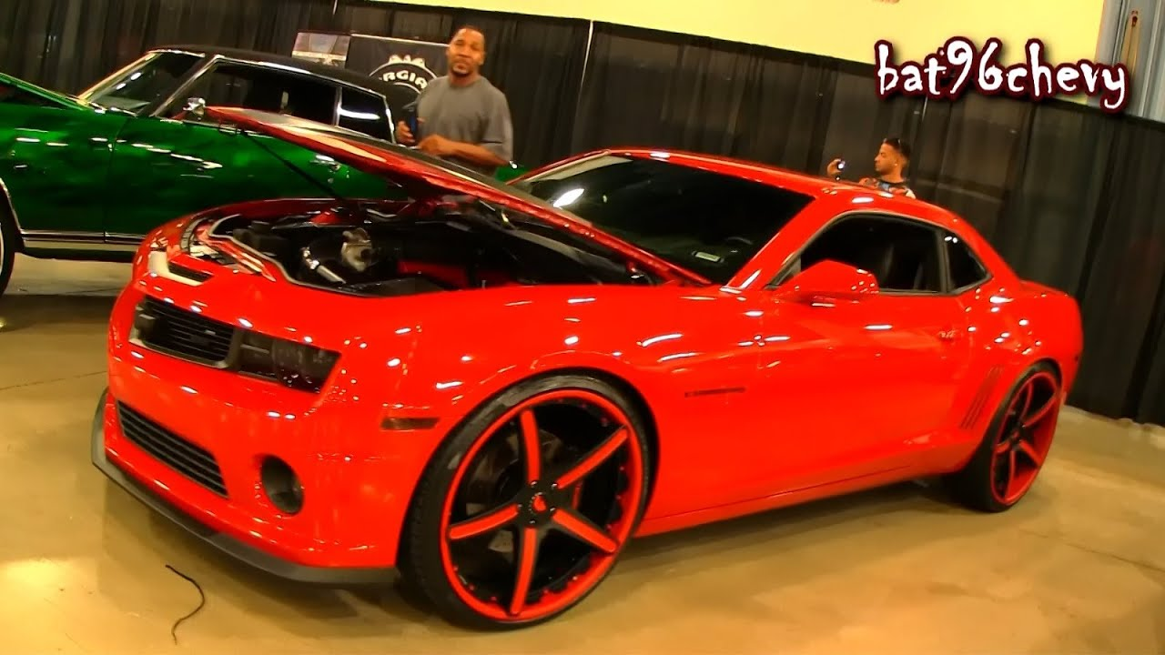 Supercharged 2012 Camaro Ss On 24 Quot Concave Forgiatos