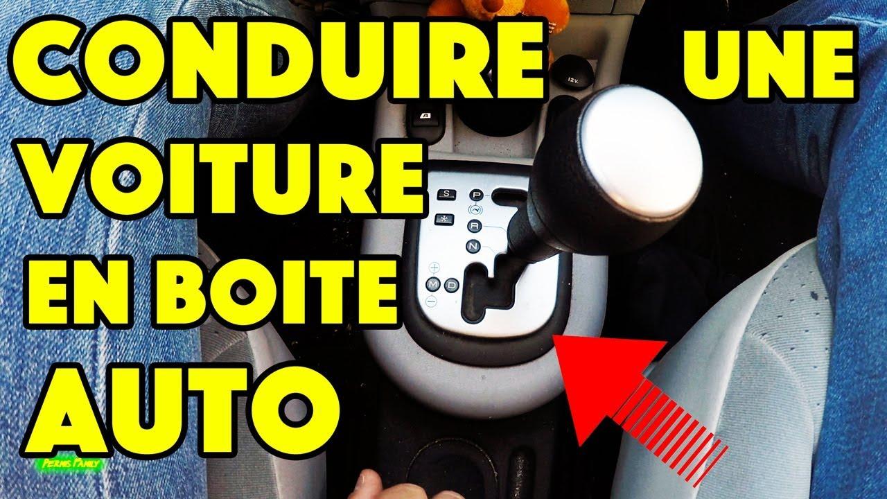 on conduit une voiture en boite automatique youtube. Black Bedroom Furniture Sets. Home Design Ideas