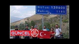 Şanlı türk bayrağı bisikletli kadınlar tarafından erzincan'a getirildi - Erzincan Haberleri
