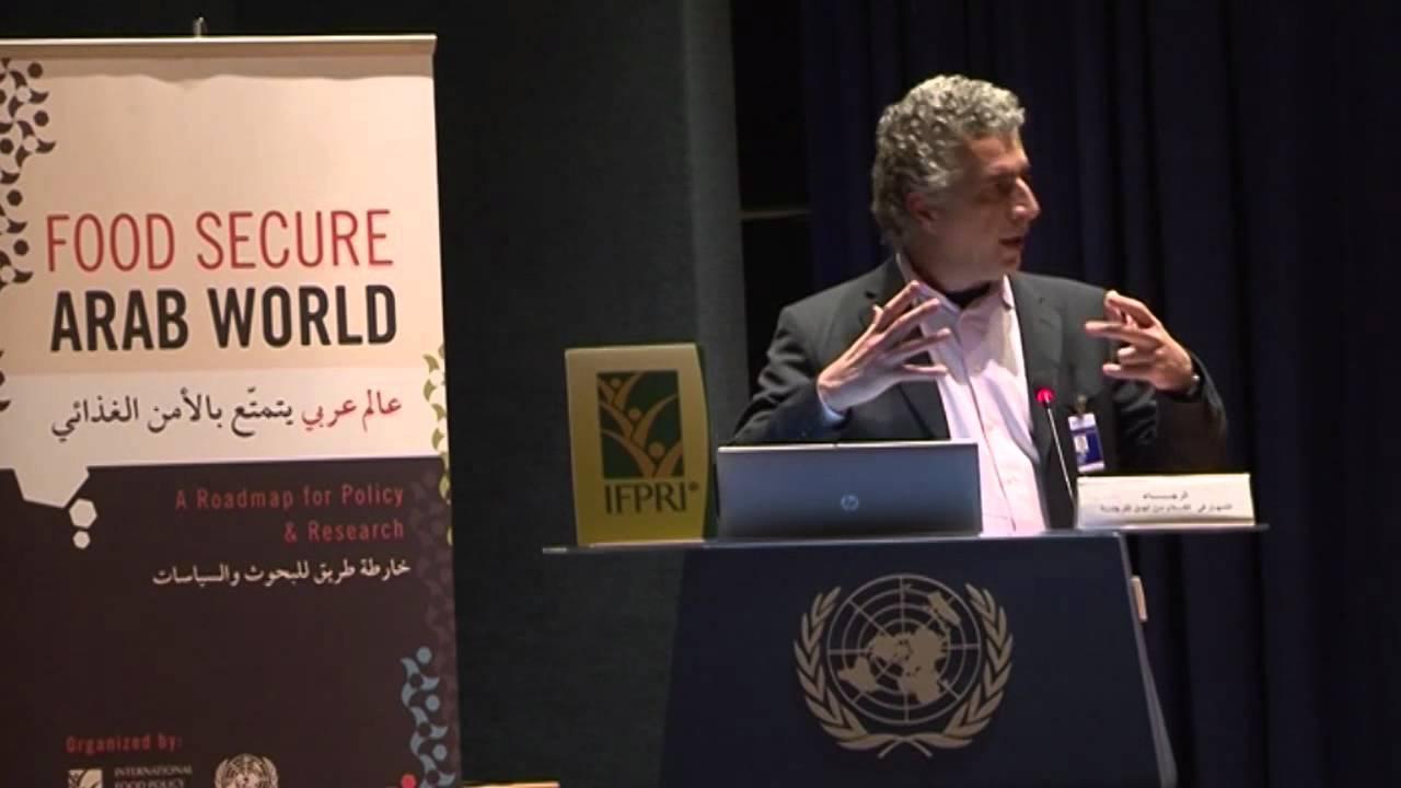 Food Secure Arab World (English) - Ishac Diwan - YouTube