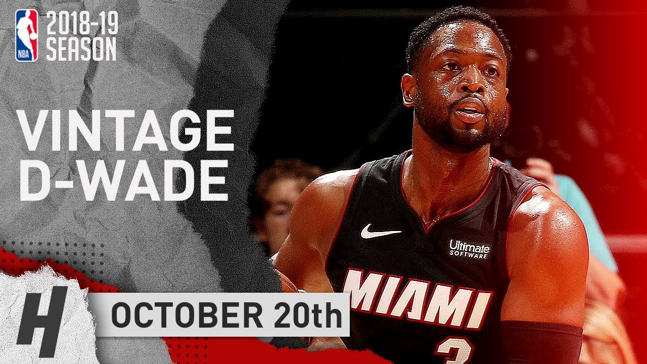 dwyane-wade-full-highlights-heat-vs-hornets-2018-10-20-21-pts-off-the-bench