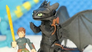 DreamWorks Huccip The Dragons Defenders of Bark Toothless The Night Fury!