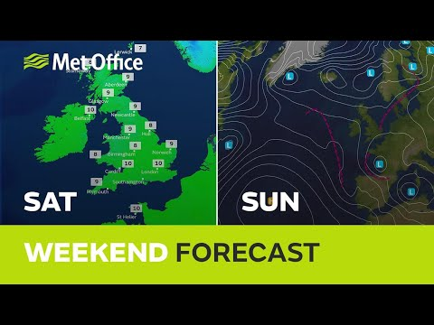 Weekend weather - Milder than last weekend but will there be any sun?