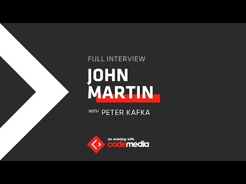 Live: Recode's Peter Kafka interviews Turner CEO John Martin | Wednesday, Nov. 30, 7pm ET