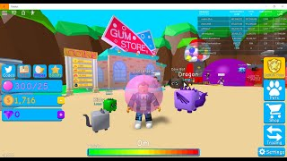 I got free pets - roblox bubble gum simulator#1
