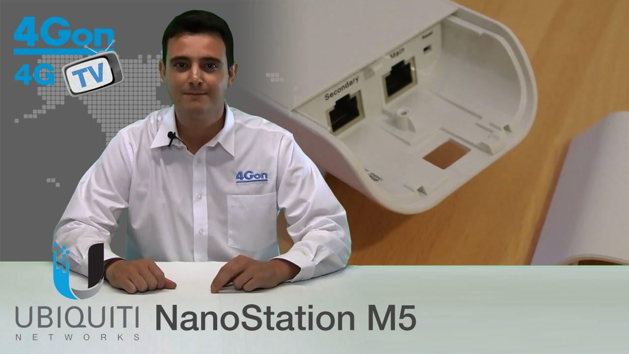 Ubiquiti NanoStation M5 (NSM5) Video Review / Unboxing