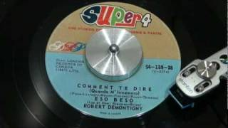 ROBERT DEMONTIGNY - Eso Beso - 1962 - DSP SUPER 4