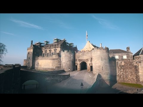 Scotland's Stirling Castle Is Recreated In 3D, Revealing Mysterious Skeletons | Unearthed