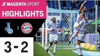 MSV Duisburg - FC Bayern München II   Spieltag 18, 19/20   MAGENTA SPORT