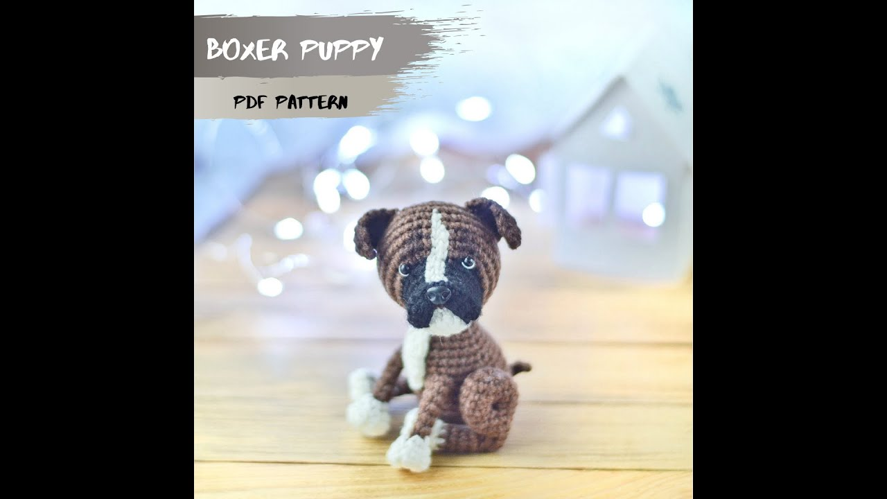 Tiny puppy amigurumi pattern - Amigurumi Today | 720x1280