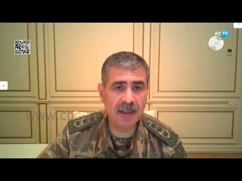 Министр обороны Закир Гасанов: армянская армия несет крупные потери и отступает