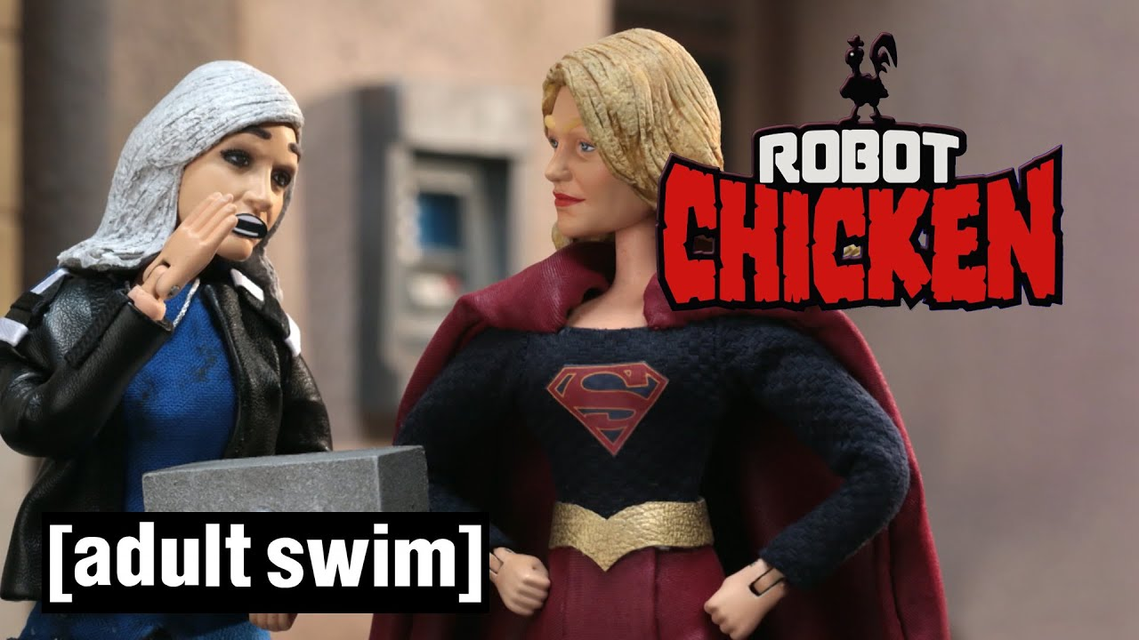 Robot Chicken | How To Defeat Supergirl | Adult Swim UK ??