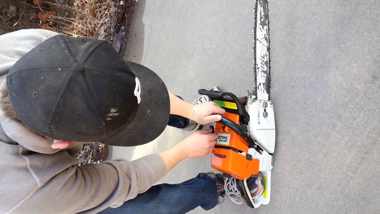 Chainsaw Compression Demonstration
