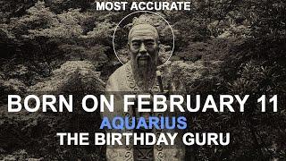 Born On February 11   Birthday   #aboutyourbirthday   Sample