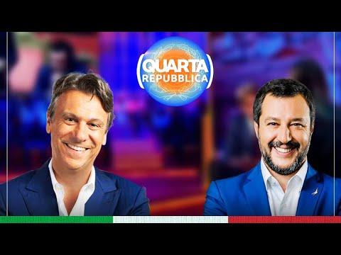 MATTEO SALVINI A QUARTA REPUBBLICA (RETE 4, 31.08.2020)