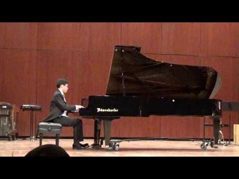 EPSMF Winner Recital at UTEP 20180714~ Vincent Yang